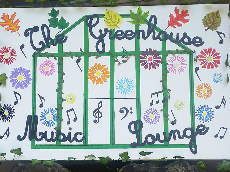 Camp Greenhouse Music Lounge